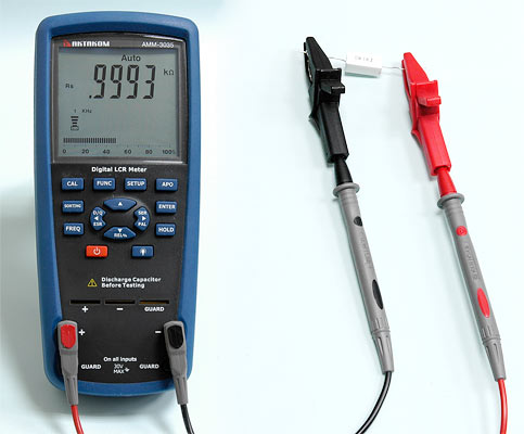 measuring resistance 4-wire resistor measurement is if you need an accurate measurement in measure current you often need to know what the resistance of your wires/steel strip/connector/etc is.