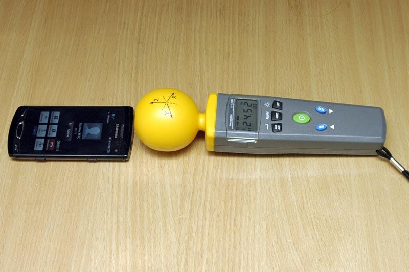 Aktakom Att 2592 Portable Electromagnetic Field Tester T