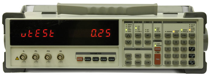 AKTAKOM AM-3001 Digital LCR Meter - front view