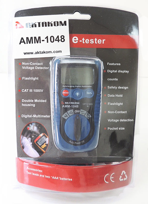 AKTAKOM AMM-1048 Digital Multimeter - packaged