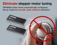 Spinning motors just got simpler with TI's latest stepper technologies