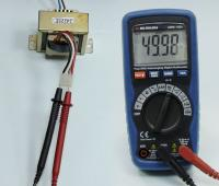 Compact Aktakom AMM-1032 digital True RMS multimeter with autoranging