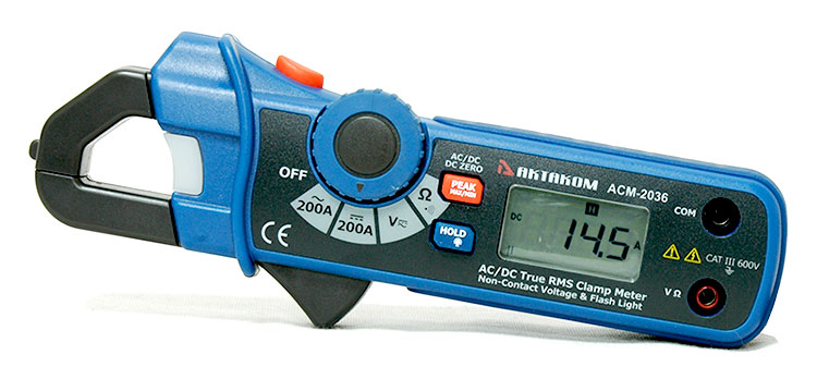 AKTAKOM ACM-2036 AC/DC True RMS Clamp Meter