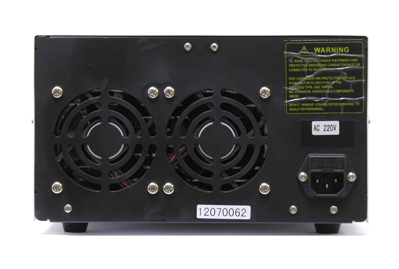 AKTAKOM ATH-2261 DC Power Supply 60V / 10A 2 Channels - rear view