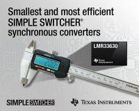 TI introduces smallest and most efficient SIMPLE SWITCHER® synchronous converters