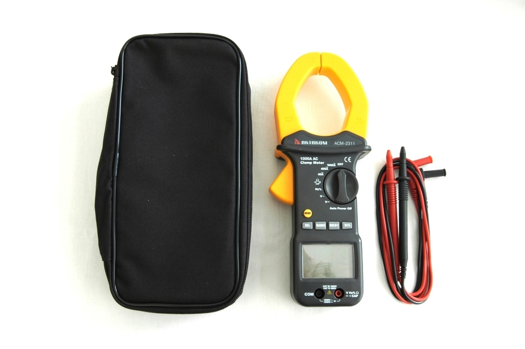AKTAKOM ACM-2311 1000A AC Clamp Meter - Full set