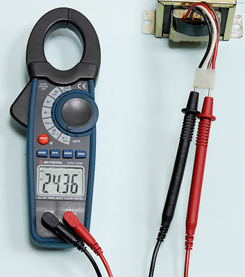 AKTAKOM ACM-2348 1000 A AC/DC Clamp & Watt Meter. True RMS & Pulse measurements - ACV Measurement