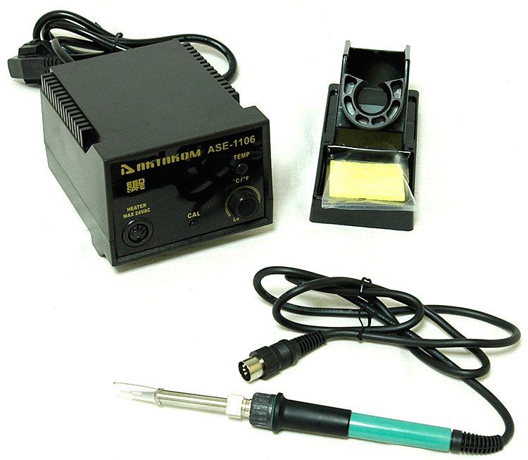 AKTAKOM ASE-1106 ESD-Safe Temperature Controlled Soldering Station