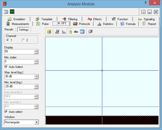 AKTAKOM Aktakom DSO-Reader Pro Software for Oscilloscopes - analysis module