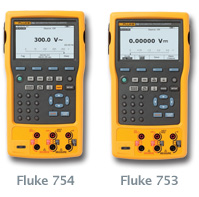 The new Documenting Process Calibrator Fluke 754/753