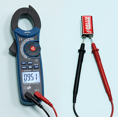 AKTAKOM ACM-2056 1000 A AC/DC Clamp Meter. True RMS + Multimeter + Wireless USB - DC Voltage Measurement