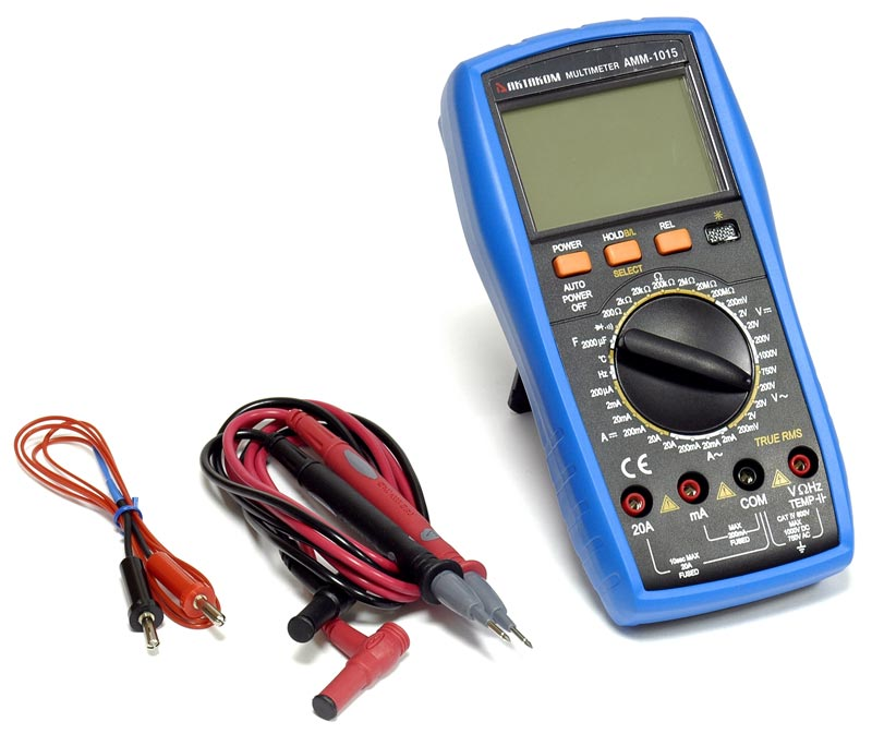 AKTAKOM AMM-1015 Digital Multimeter - with accessories