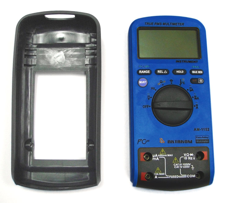 AKTAKOM AM-1152 Extra-safety Digital Multimeter - protective holster