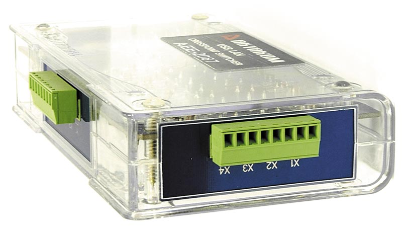 AKTAKOM AEE-2087 4-channel Crosspoint Switch
