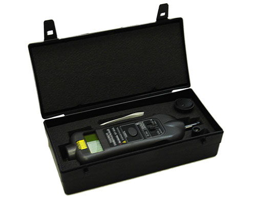 AKTAKOM ATE-6006 Laser Photo/Contact Tachometer - Package