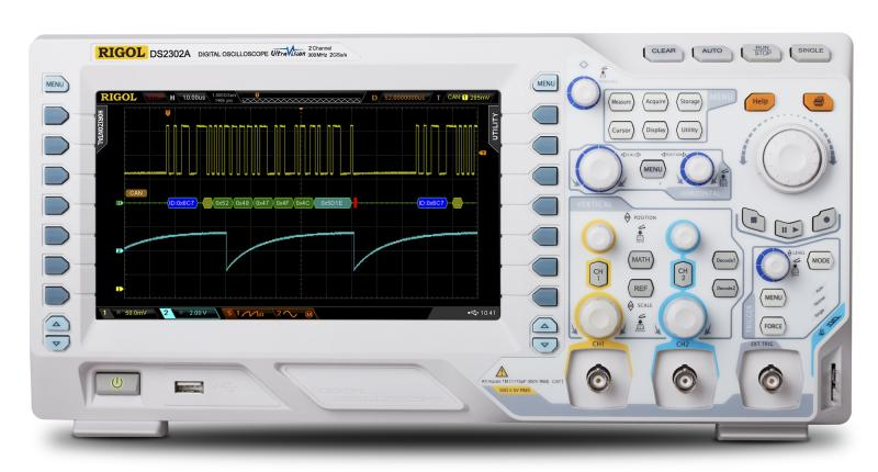 RIGOL DS2072A 70 MHz Digital Oscilloscope - Main view