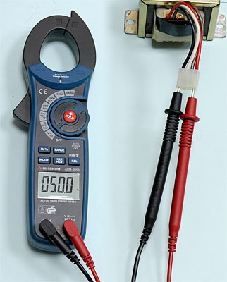 AKTAKOM ACM-2056 1000 A AC/DC Clamp Meter. True RMS + Multimeter + Wireless USB - Duty Cycle Measurement