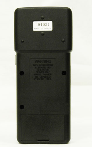 AKTAKOM ATE-2001 Dual Thermometer - Rear view