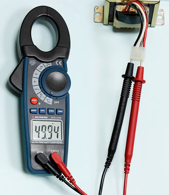 AKTAKOM ACM-2348 1000 A AC/DC Clamp & Watt Meter. True RMS & Pulse measurements - Frequency Measurement