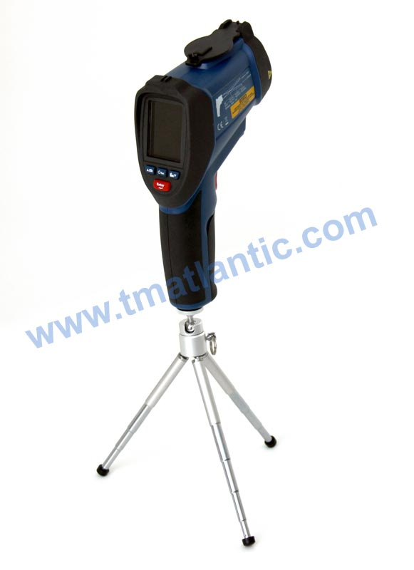AKTAKOM ATE-2561 Infrared Video Thermometer - on a tripod