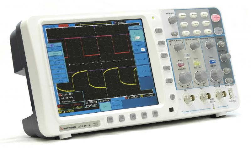 AKTAKOM ADS-2111M Digital Storage Oscilloscope 100MHz 1GSa/s