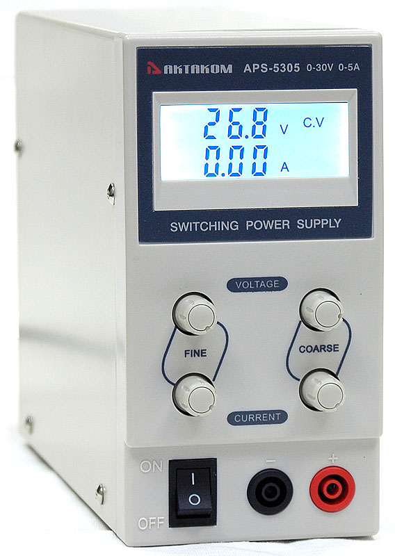 AKTAKOM APS-5305 DC Power Supply 30V / 5A 1 channel