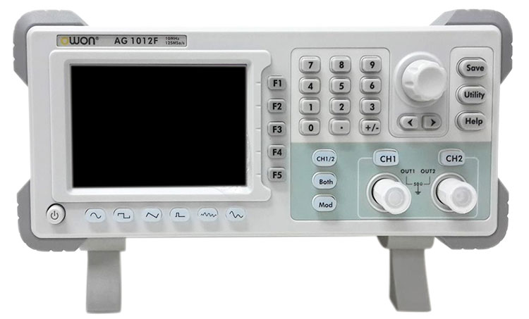 OWON AG-1012F Waveform Generator - face view