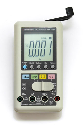 AKTAKOM AMM-1081 Hand Charger Digital Multimeter