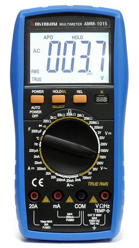 AKTAKOM AMM-1015 Digital Multimeter - front view