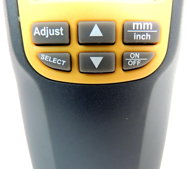 AKTAKOM ATE-9041 Ultrasonic Thickness Tester - Buttons