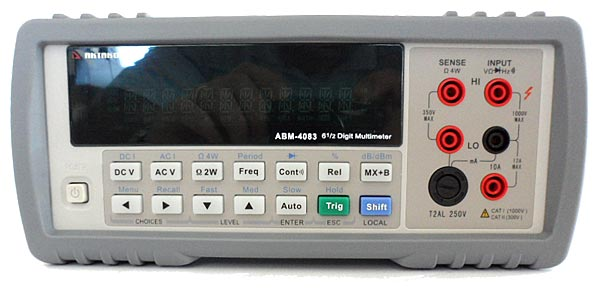 AKTAKOM ABM-4083 Benchtop Digital Multimeter - front view