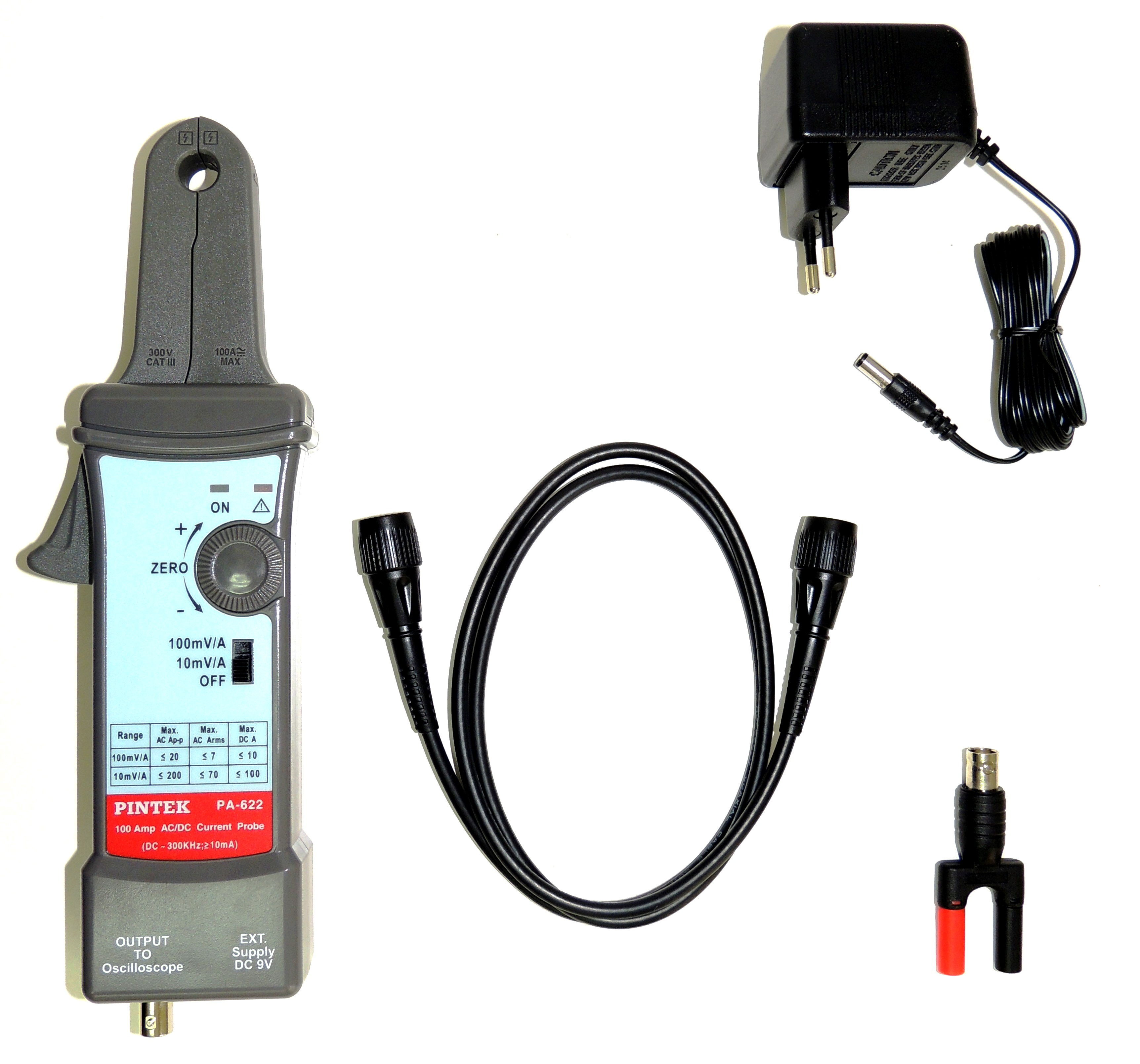 PA-622 Current Probe - Accessories