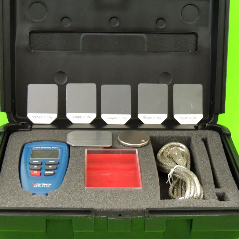 AKTAKOM ATE-7156 Coating Thickness Tester - Set in Case