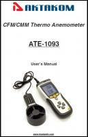 ATE-1093 User manual is now available on our web site
