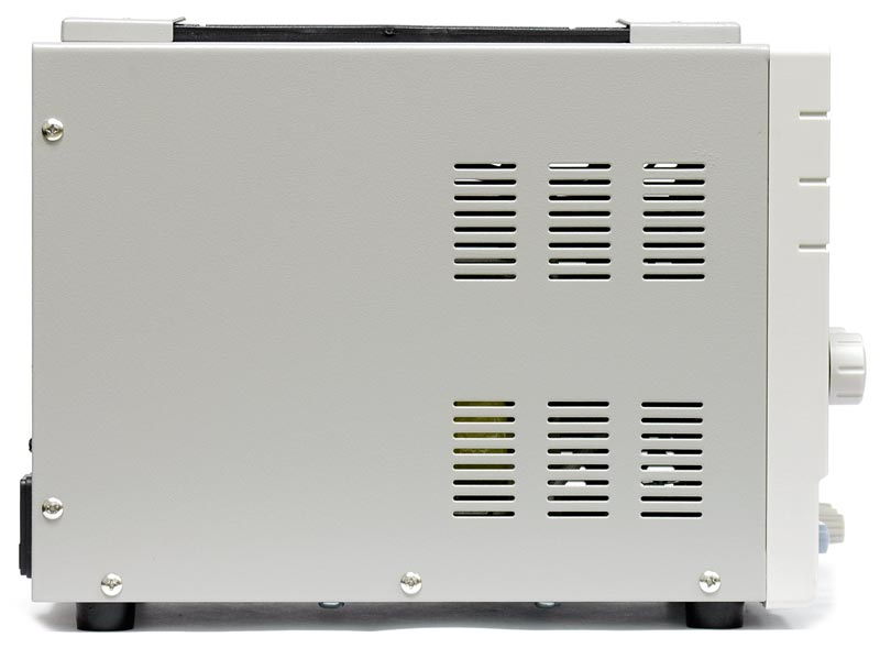 AKTAKOM APS-1306 DC Regulated Power supply - side view