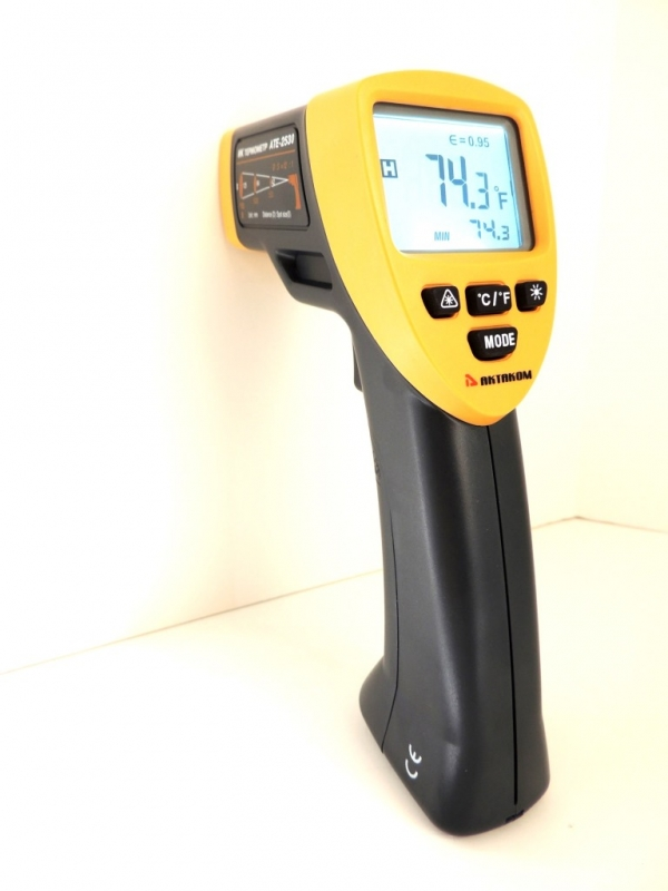 AKTAKOM ATE-2530 Wide-Range Infrared Thermometer with Laser Targeting