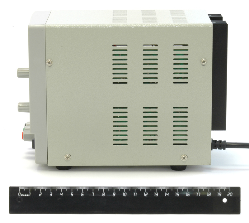 AKTAKOM ATH-1323 DC Power Supply - side view
