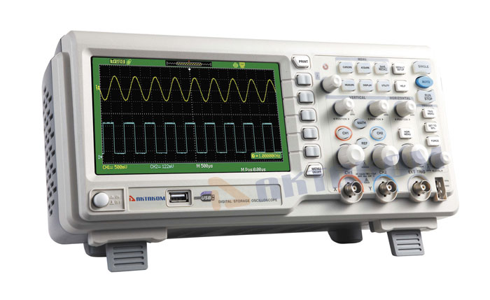 AKTAKOM ADS-2102 Digital Storage Oscilloscope 100MHz 1GSa/s