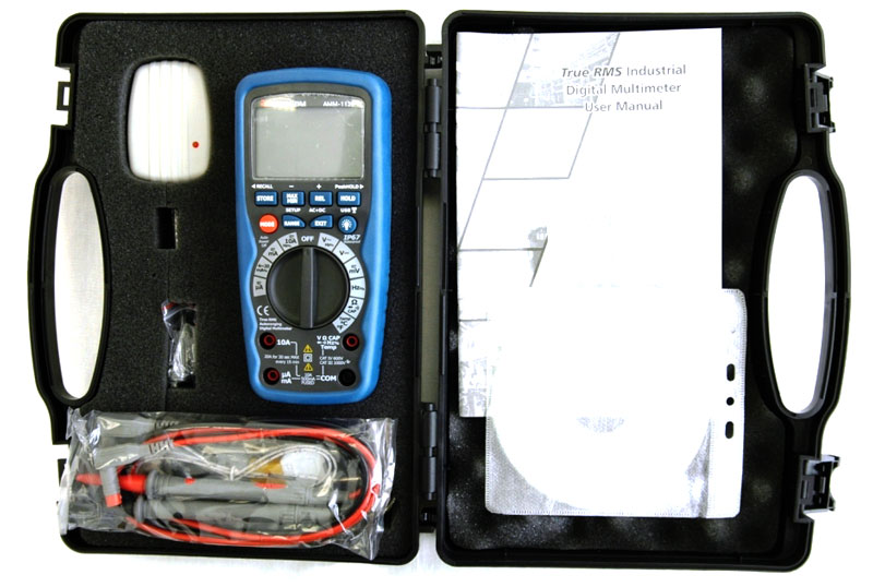 AKTAKOM AMM-1139 Professional Industrial Precision Digital Multimeter - Case