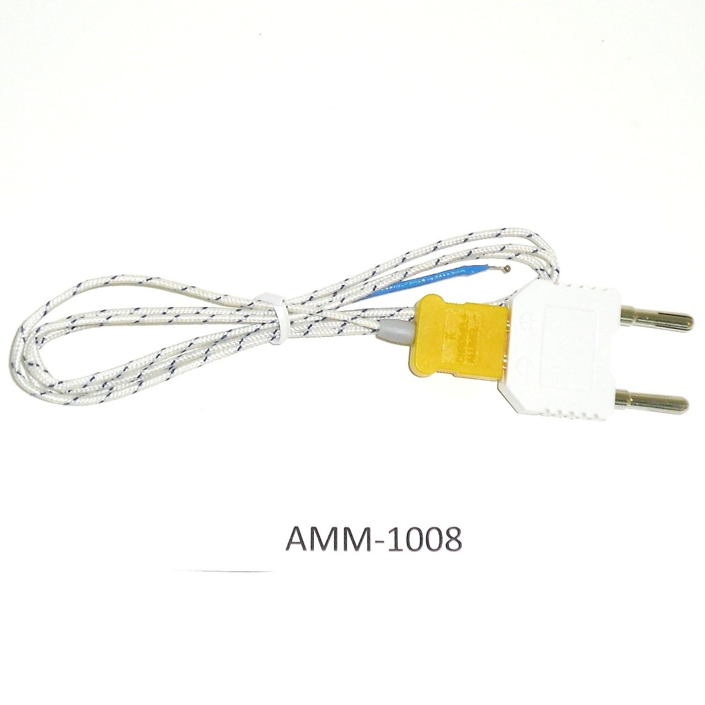 AKTAKOM AMM-1008 General Purpose 20 A Digital Multimeter - Type K temperature probe