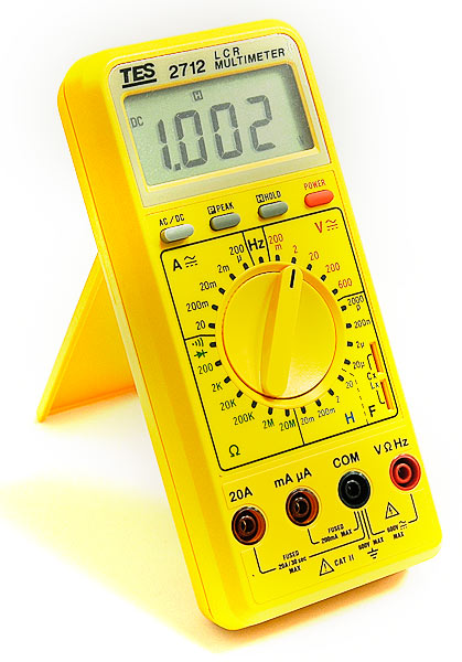 TES TES-2712 Digital LCR Multimeter