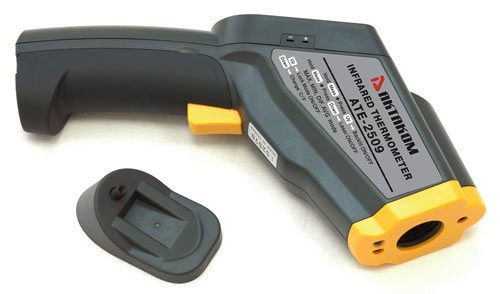 "AKTAKOM ATE-2509 Ultra-Wide-Range Infrared Thermometer with ""K"" Port and Adjustable Emissivity  - Accessories"
