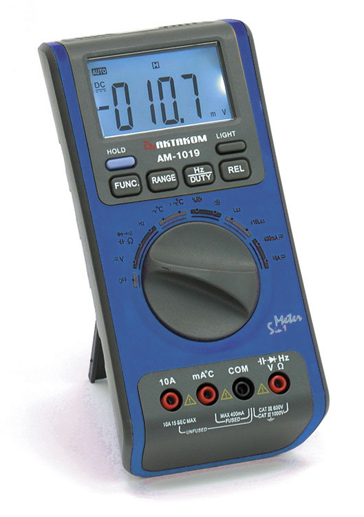 AKTAKOM AM-1019 Digital Multimeter with Environment Measurements