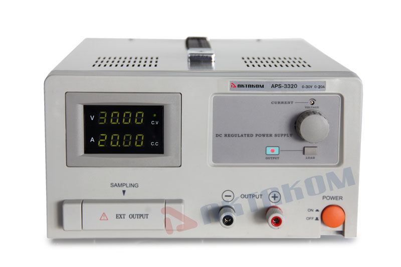AKTAKOM APS-3320 DC Power Supply 600W 30V / 20A, 1 Channel