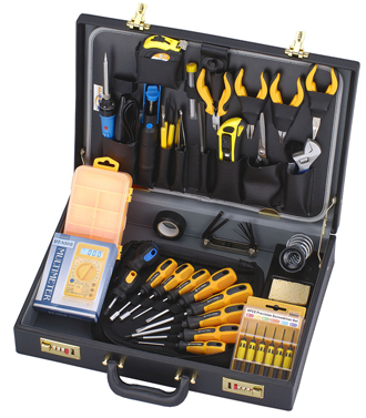 AKTAKOM AHT-5044 44 PIECE Field Service Engineer Tool Kit