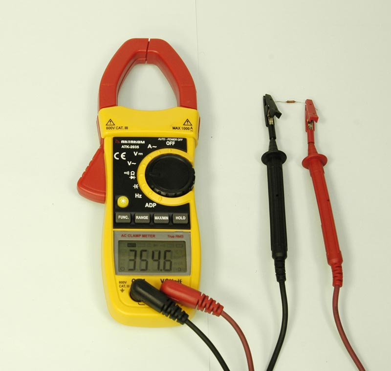 AKTAKOM ATK-2035 Clamp Meter - Resistance measurement