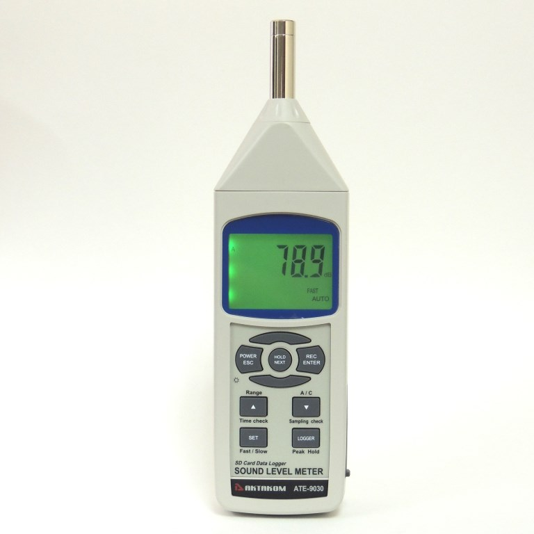AKTAKOM ATE-9030 Sound Level Meter - Display
