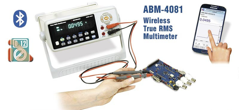 AKTAKOM ABM-4081 Benchtop Digital Multimeter