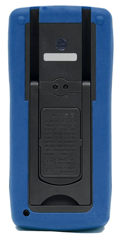 AKTAKOM AMM-1008 General Purpose 20 A Digital Multimeter - Rear view