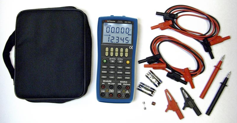 AKTAKOM AM-7025 Process Calibrator Multi-Function - accessories